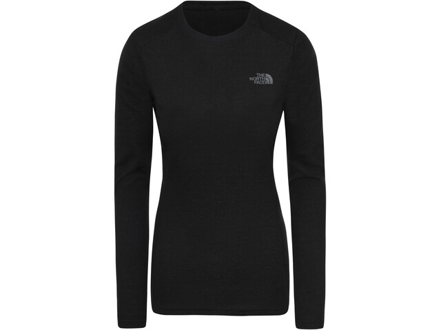 The North Face Easy Longsleeve Crew Neck Dames, tnf black